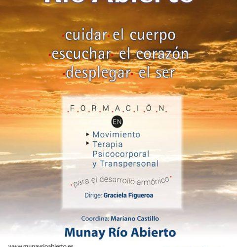 26 de septiembre: presentación de la Formación Río Abierto 2018-19